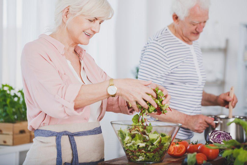 Pripremanje zdravog obroka